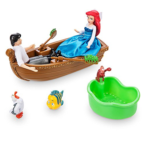 [Disney The Little Mermaid ''Kiss the Girl'' Water Toy] (Ariel Blue Dress Costumes)