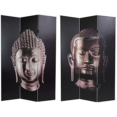 double sided buddha canvas room