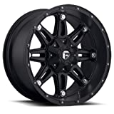 Fuel Hostage Matte Black Wheel (17x9'')