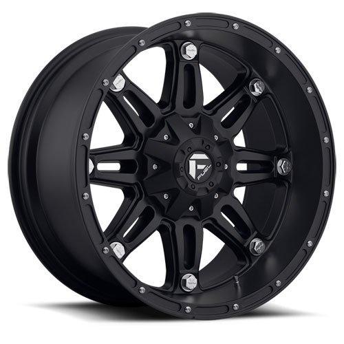Fuel Hostage Matte Black Wheel (17x9'')
