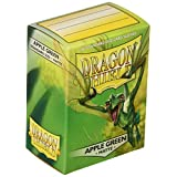 Arcane Tinman AT-11018 Dragon Shield Sleeves Matte Apple Card Game, Green