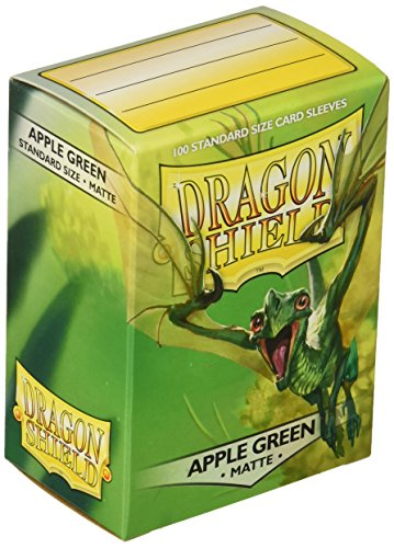 Apple Cards Green (Dragon Shield Sleeves Matte Apple Card Game, Green)