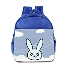 Logon 8 And The World Will Sleep Too Cute Baby Boys Girls Tollder School Hiking Backpacks Bags RoyalBlue