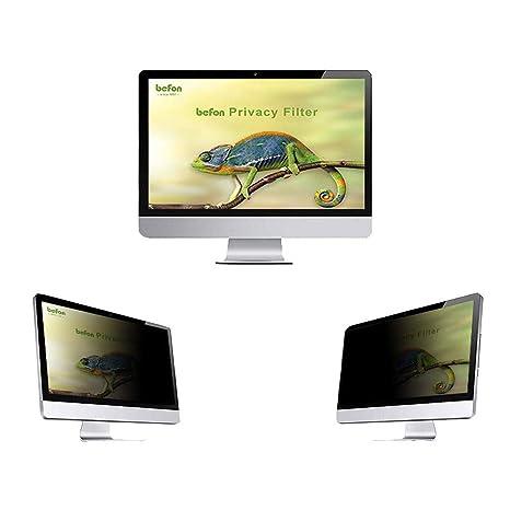 befon Premium - Filtro de privacidad y Protector de Pantalla para Ordenador portátil 376x301mm (19