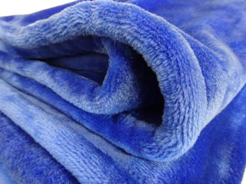 Royal Mink Blanket - NorthEast Fleece Cloud Mink Touch Throw Blanket (Royal Blue)