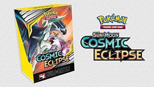 Pokemon Cosmic Eclipse Sun and Moon Build & Battle Prerelease Kit ...