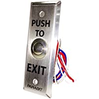 DH-XBTN-N - Narrow Push-to-Exit Button