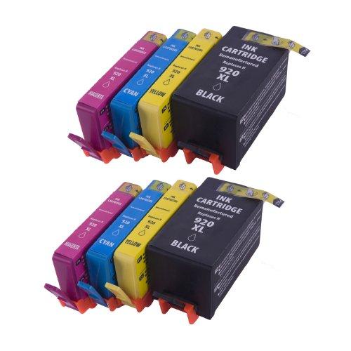 speedtmhp-920xl-remanufactured-ink-cartridge-8-pack-of-cd975a-cd972a-cd973a-cd974a-2-black-2-cyan-2-