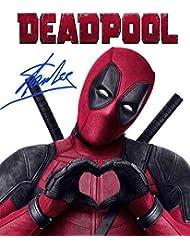 STAN LEE Reprint Signed Autographed DEADPOOL 8x10 Photo Print RP
