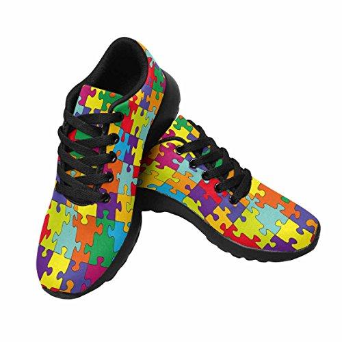 Interestprint Mujeres Jogging Running Sneaker Ligero Go Easy Walking Comfort Deportes Zapatillas De Running Multi 14