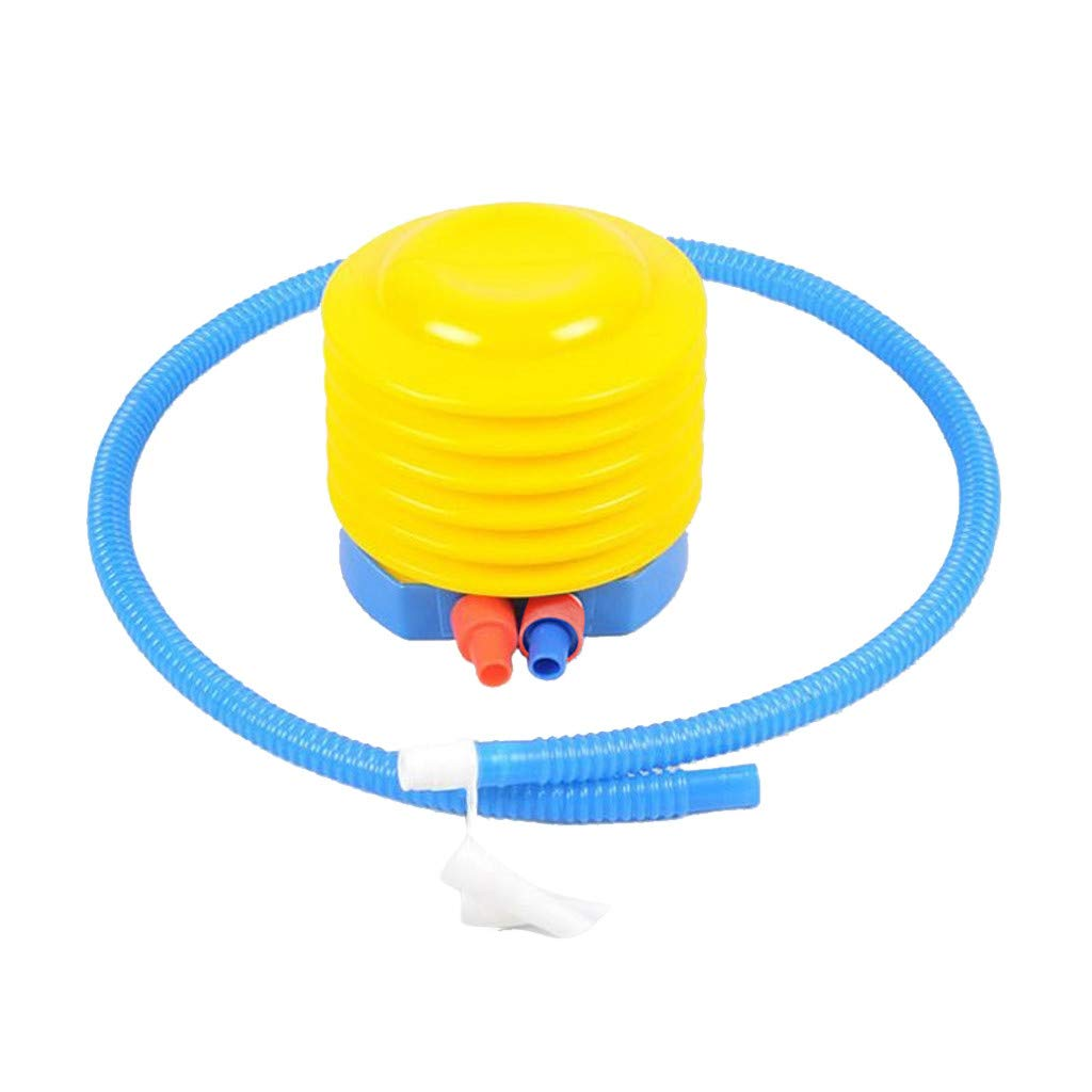 Tuscom Plastic Bellows Foot Pump Foot Air Pump Balloon Sports Inflatable Yoga Gym Exercise Ball Hand Pump Inflator (Multicolor)
