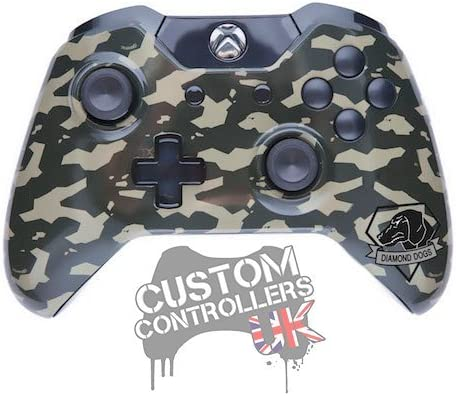 Xbox One Custom Controller - Metal Gear Solid V - Diamond Dogs ...