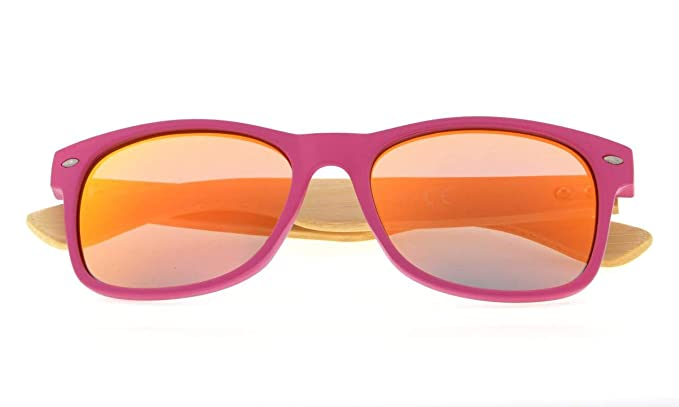 Eyekepper Gafas de Sol Polarizadas Clásicas con Brazo de Madera de Bambú para Hombre: Amazon.es: Ropa y accesorios