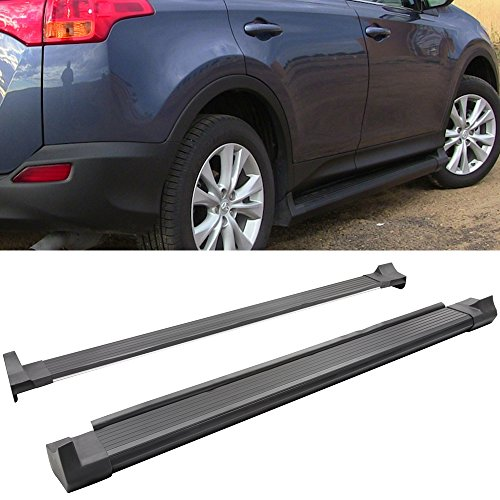 Running Board Fits 2013-2016 Toyota RAV4 | Rav 4 Factory Style Side Steps Nerf Bars Rail Bars Pair by IKON MOTORSPORTS | 2014 2015