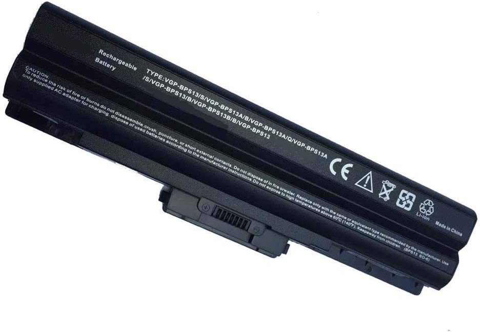 Toopower New Replacement VGP-BPS13 Battery for Sony Vaio PCG-3D4L PCG-61411L PCG-7173L PCG-7184L PCG-7185L PCG-7192L PCG-81114L VGN-AW VGN-AW11M/H VGN-CS19 VGN-NW270F/T VGN-NW280F/P