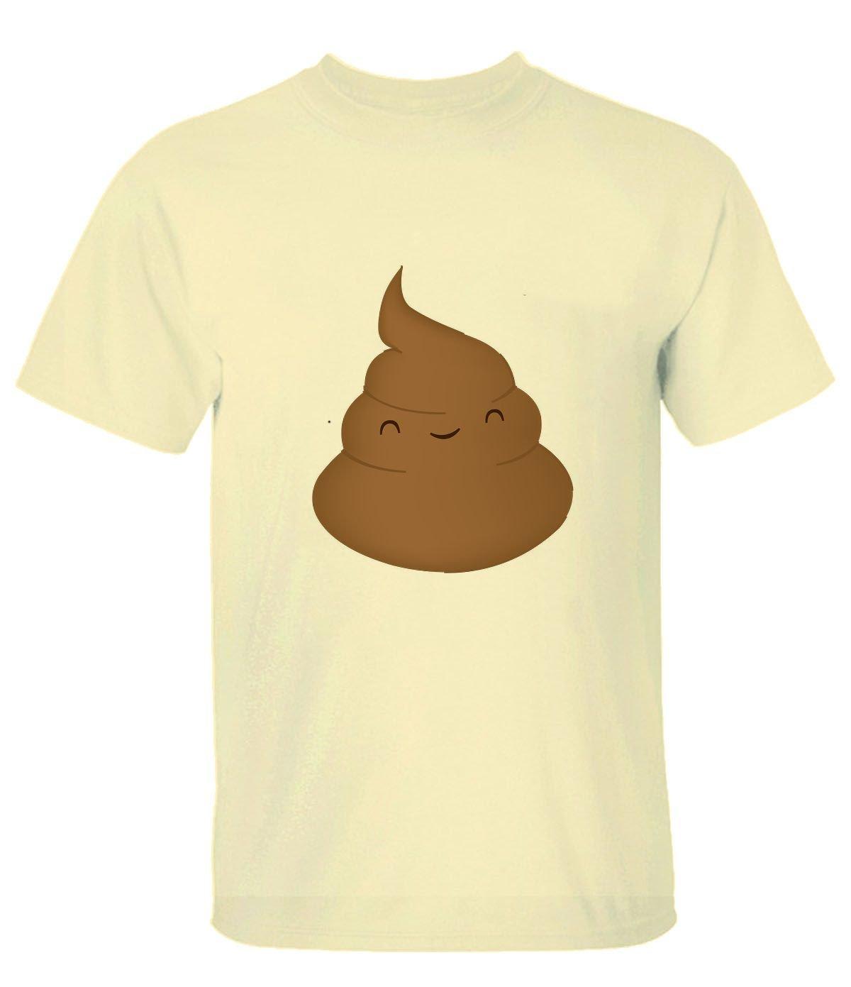 Zd215zd Cartoon Shit Man Logo T Shirt Ts For 5728