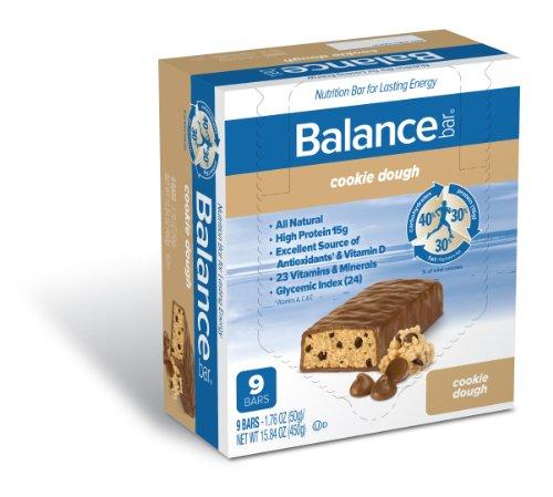 Balance Bar, Cookie Dough, 9-Count