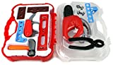 GT My First Tool Case Power Saw Children's Kid's Pretend Play Toy Work Shop Tool Set w/ Tools, Accessories