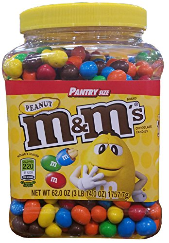 M&M's Peanuts Jar Pantry Size - S Stores And A