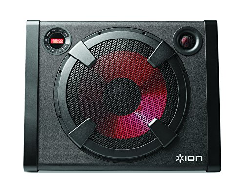 ion audio road warrior 500 watt rechargeable stereo. Black Bedroom Furniture Sets. Home Design Ideas