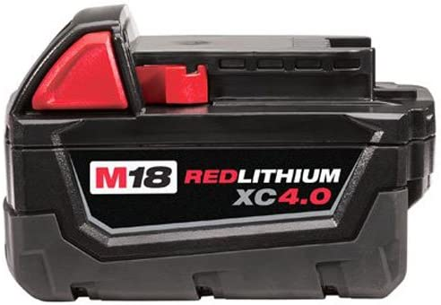 NEW Milwaukee M18 RED LITHIUM™ XC 4.0 AMP 18 V FUEL CELL BATTERY 48-11-1840 PRO