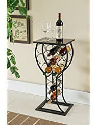Amazoncom Black Wine Racks Cabinets Storage Organization