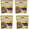 Crunchmaster Crackers Multi-Seed Orginal 4.5 ounce Bag (Pack of 4)
