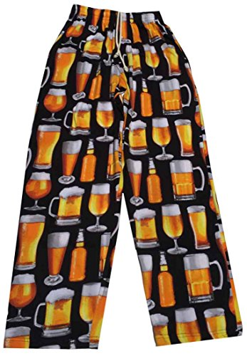 Fun Boxer Photo Beer Lounge Pant, X-Large