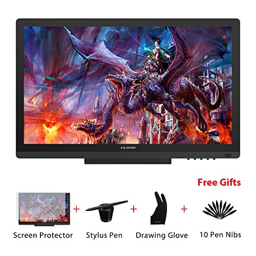 Huion KAMVAS GT-191 Graphics Drawing Tablet Monitor with 8192 Levels Pen...