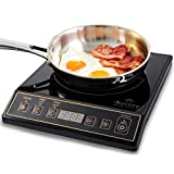 Secura 9120MC 1800W Portable Induction Cooktop Stove Countertop...