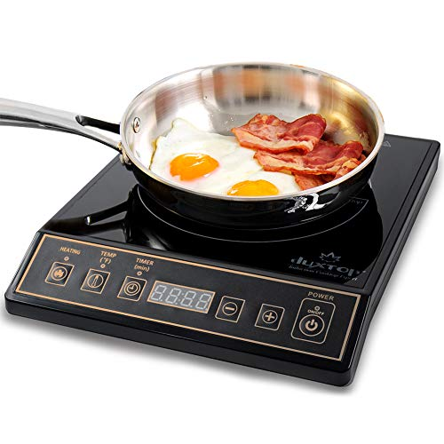 - Secura 9120MC 1800W Portable Induction Cooktop Stove Countertop Burner Range, Gold