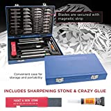 TCP Global Deluxe Cutting Knife Set with Case