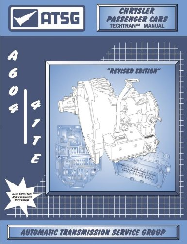604 Manual - ATSG Chrysler A-604 Techtran Manual