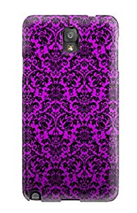 Defender Case With Nice Appearance (purple Vintage) For Galaxy Note 3 by icecream design