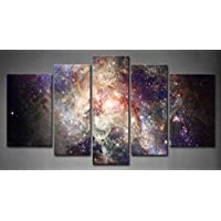 Framed Wall Art Decor Star Space Nebulae Picture Print Canvas Nebula Pictures For Home Office Decor