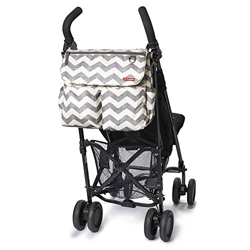 skip hop dash signature messenger diaper bag chevron buy online in uae baby product. Black Bedroom Furniture Sets. Home Design Ideas