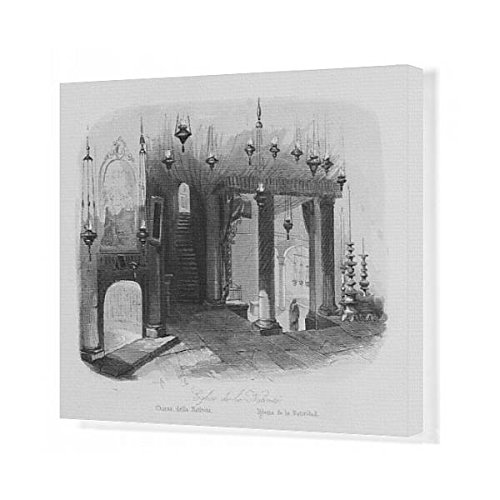 20x16 Canvas Print of Church of the Nativity, Bethlehem (571980) by Prints Prints Prints