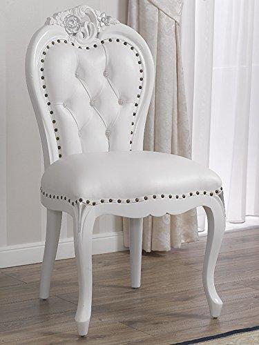 Simone Guarracino Poltrona sedia stile Barocco Moderno bianco ...