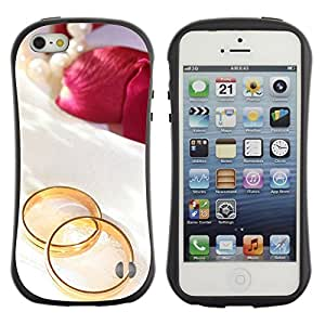 Suave TPU GEL Carcasa Funda Silicona Blando Estuche Caso de protección (para) Apple Iphone 5 / 5S / CECELL Phone case / / Promise of love /