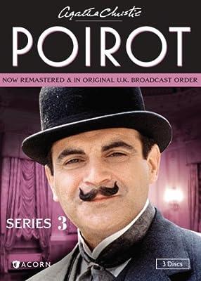 587e0db4b2172 Amazon.com: Agatha Christie's Poirot, Series 3: David Suchet, Hugh Fraser,  Philip Jackson, Pauline Moran: Movies & TV
