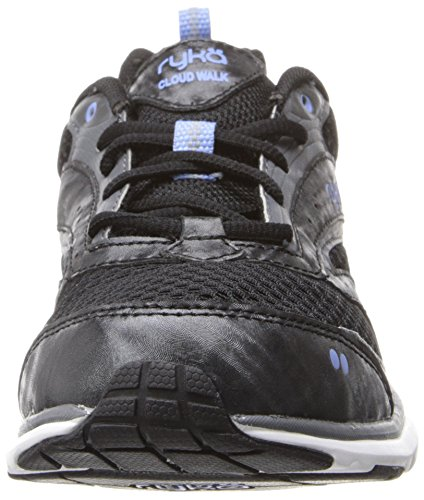 Cloud Women's Iron WK Grey Black Blue Elite Walking Ryka Shoe PfwpZOq