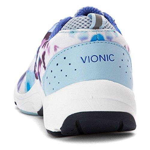 Fitness Femmes Vionic Rose Pour Tourney Chaussures Bleu De EZXqZ