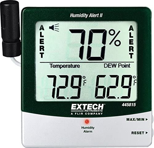 Pack of 5 Extech Instruments RHM15 Mini Hygro-Thermometer Monitor