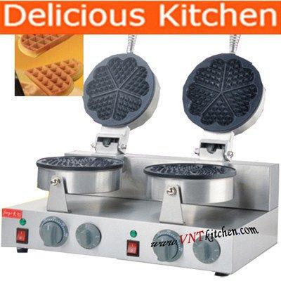 commercial belgium waffle iron - 6