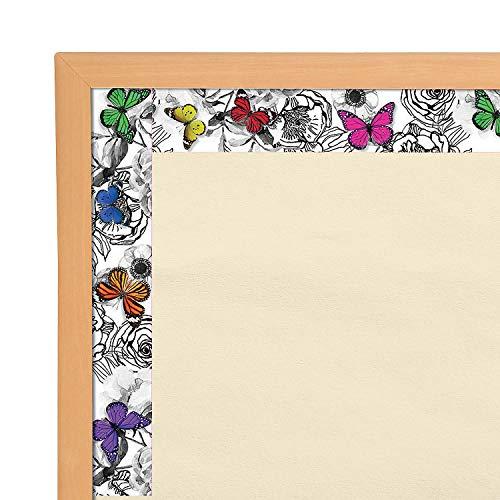 Fun Express - Sgs Whimsy Butterflies Bb Border - Educational - Classroom Decorations - Bulletin Board Decor - 12 Pieces