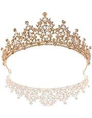 Schneespitze Kristallen prinsessenkroon, kroon hoofdband bruiloft diadeem bruiloft band diadeem voor bruiloft feesten voor bruiloft feest podiumoptredens