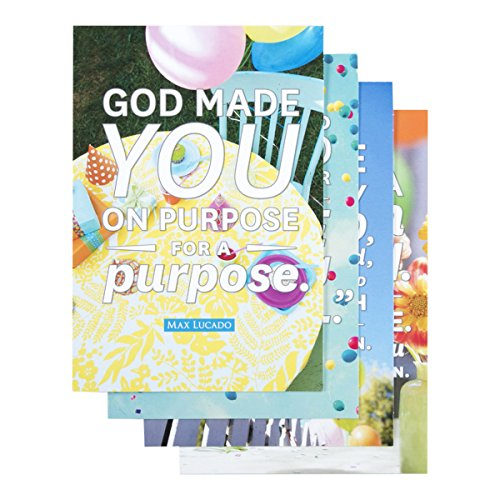 Max Lucado Boxed - Birthday Inspirational Boxed Cards - Max Lucado - God Made You