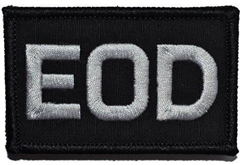 Explosive Ordnance Disposal Technicians (EOD) - 2x3 Morale Patch - Black