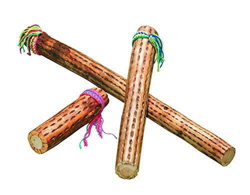 """School Specialty Wooden Rainstick - 10"""""""