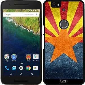 Funda para Google Nexus 6P (Huawei) - Bandera Del Estado De Arizona - Retro by BruceStanfieldArtist